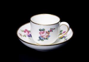 セーブルカップ&ソーサー フランス 18世紀